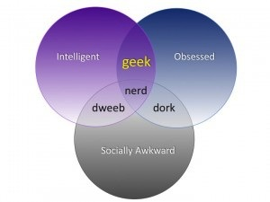 Hello. My name is ____ and I'm a geek.
