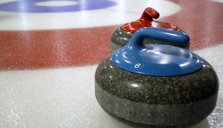 curling stones in the house