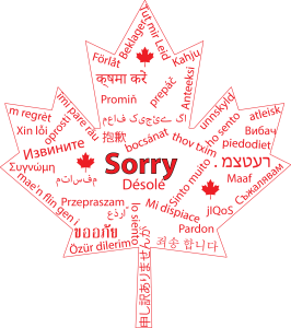 sorry in several languages